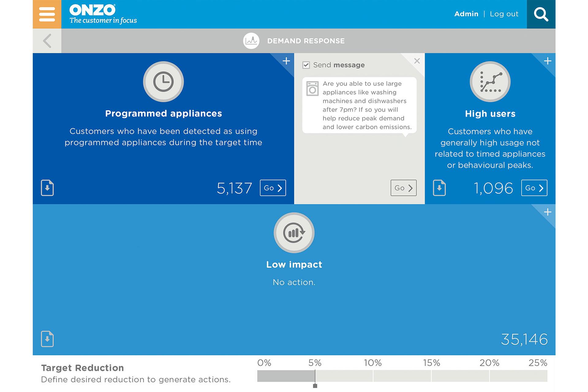 insights portal - demand response 2a