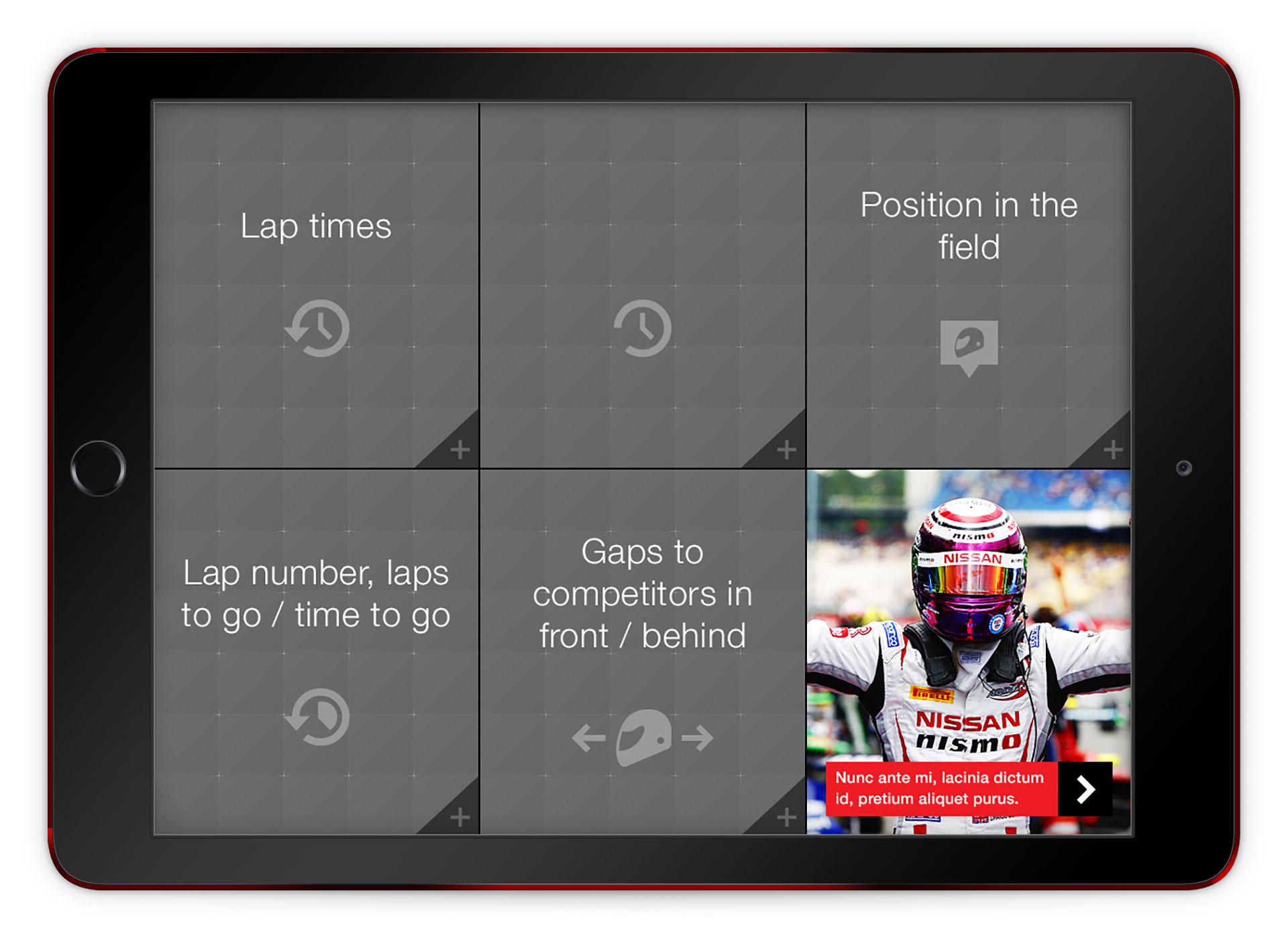 racelink menu