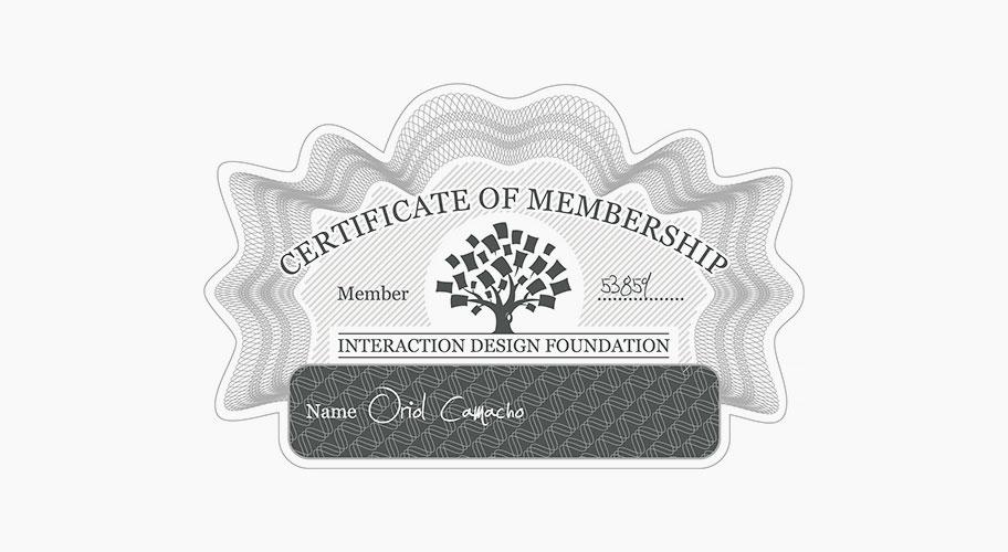 interaction design foundation - stamp