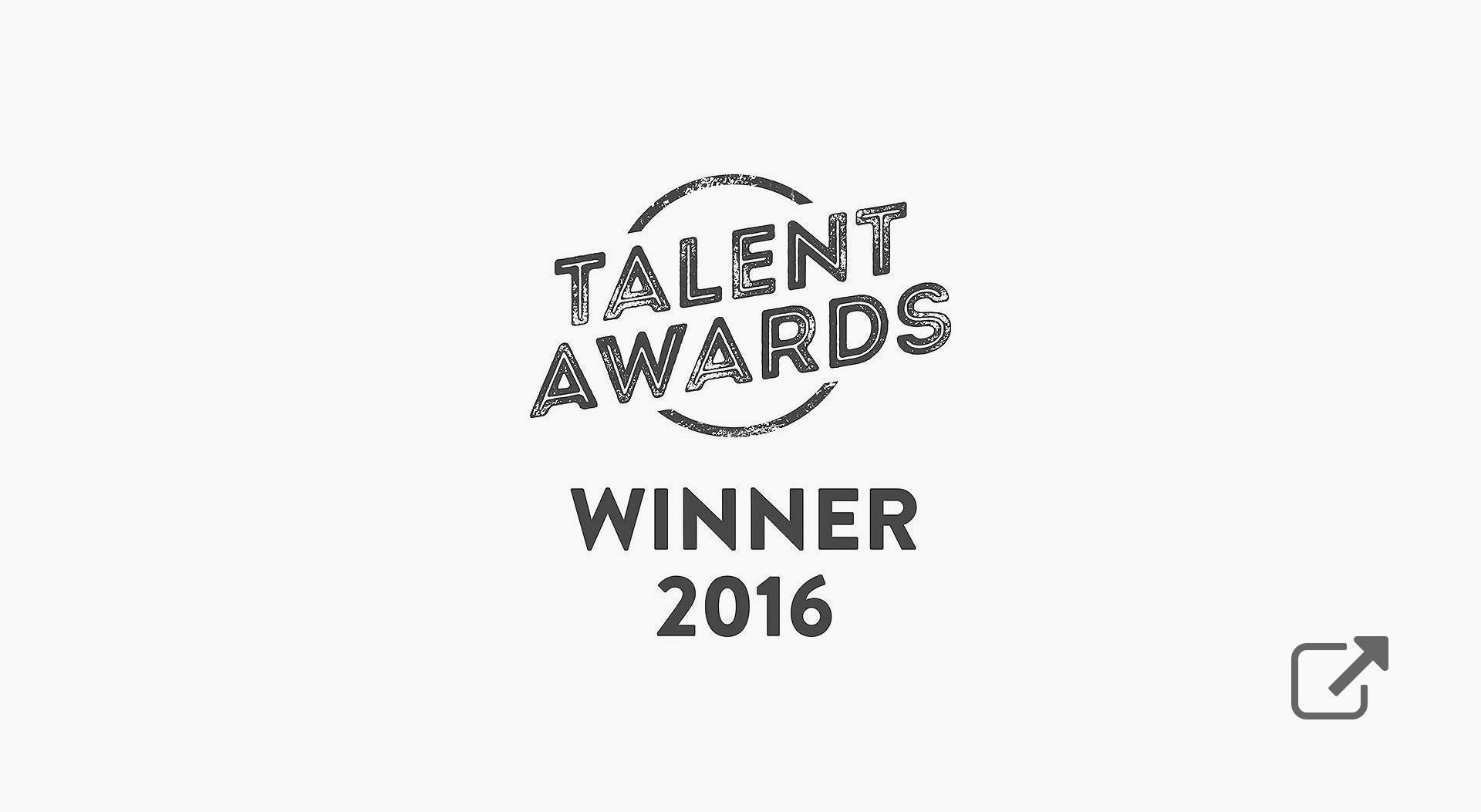 aquent talent awards winner 2016
