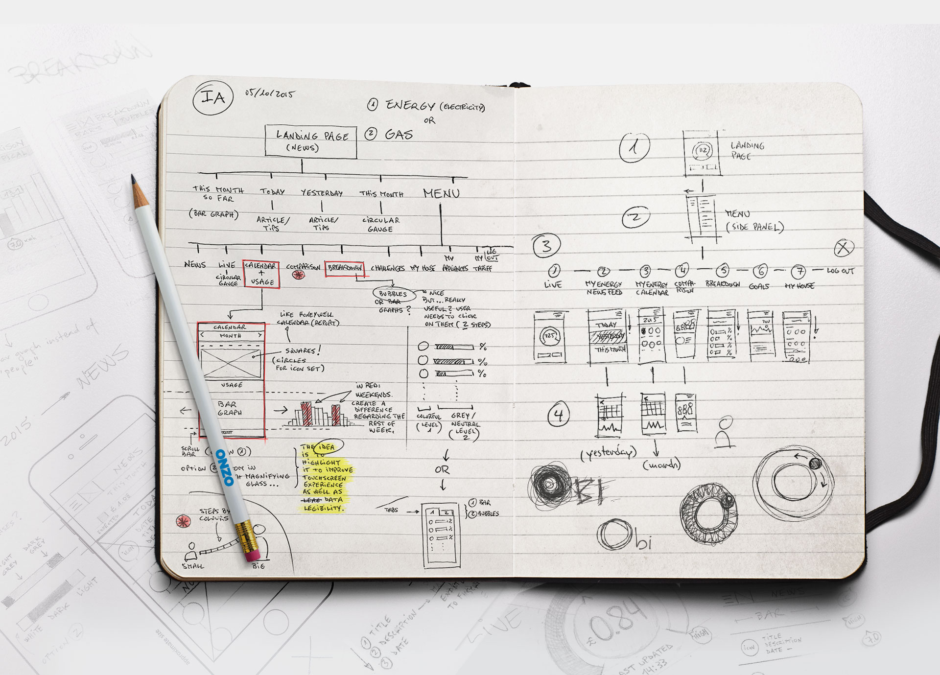 obi - sketches