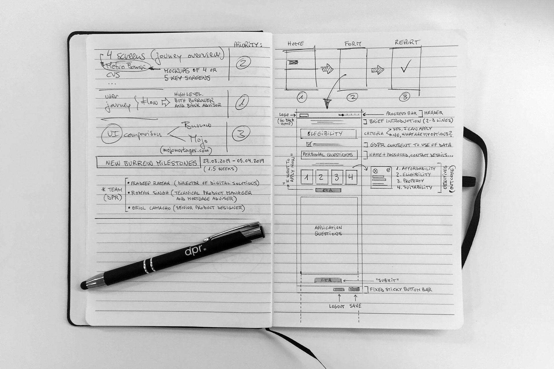 design - handwriting sketches 2